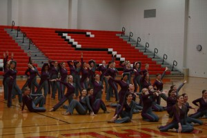 Senior Lariettes perform at CHS one last time