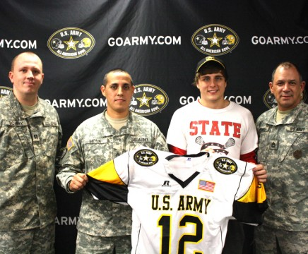 Nick Jordan has been selected to play for the U.S. Army All-American team. Photo by Brian Hwu.