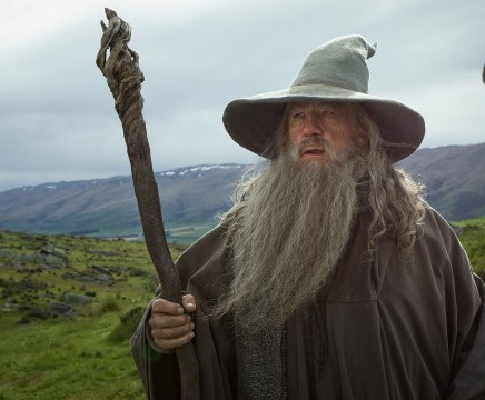 Ian McKellen as the Wizard Gandalf the Grey in the fantasy adventure, &quot;The Hobbit: An Unexpected Journey.&quot; (MCT)