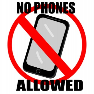 Mixed signals about cell phone use in classrooms