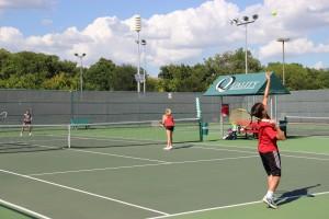 Freshmen make impact on varsity tennis
