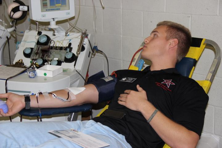 Red Jackets hold successful blood drive to help those in the community