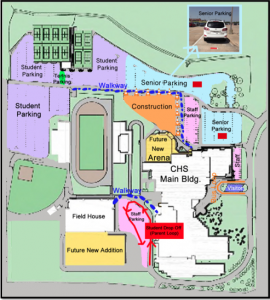 More changes to come to parking lot for students