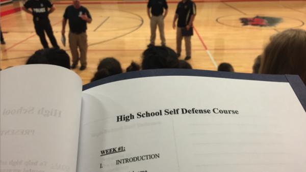 Police department supplies senior girls with self defense skills to survive assault