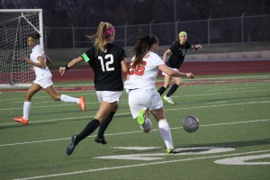 The Coppell Cowgirls soccer team takes down Southlake Carroll