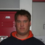 Sophomore offensive lineman Jake Williams