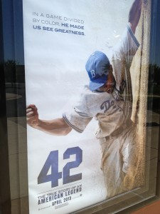 """""""42"""" opens today in theatres everywhere."""