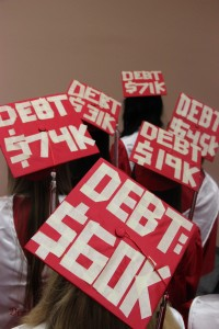With the cost of college increasing, seniors are seeking any kind of financial aid to cushion the blow. Photo by Regan Sullivan.