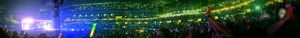 AT&T Stadium was packed Sunday night as Directioners of all ages piled into the venue to watch their beloved British-Irish boy-band, One Direction, perform. Sunday night marked One Direction's third time performing at a venue in the Dallas-Fort Worth area. Photo by Tuulia Koponen