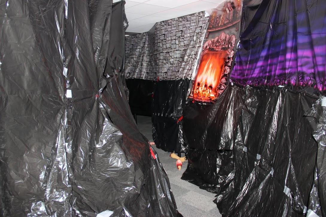 New Tech High School was completely transformed intro a Haunted House on October 23 from 7p.m. to 9p.m. The classrooms were full of terrifying high schooler, and was decorated in blood.