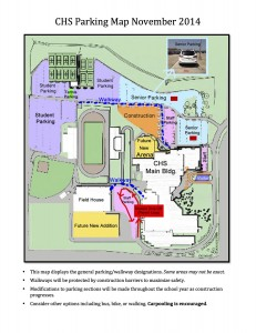 Nov CHS Parking Map