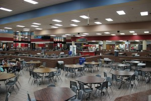 Photo by Aubrie Sisk. This represents the before picture for the new renovations which will take place over the summer.