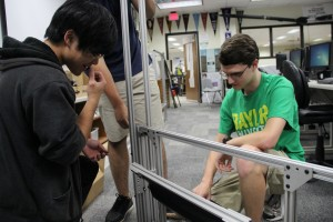 oppell High School's Disruptive Innovation engineering team created the Gateways module, which is designed to help special needs students. They plan to take Gateways to EurekaFest at MIT in June if they can raise the money.