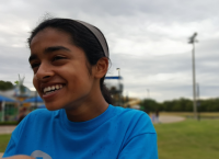 On Sept. 19 Coppell High School sophomore Riya Mahesh held a 5K/Fun Run at Andy Brown Park Central. Mahesh held the race for One Step for Eight which is a non-profit organization created to help people overcome diabetes.