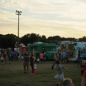 The Oak Festival on Oct. 17 took place at Andy Brown East from 5 p.m. to 9 p.m. The festival was so popular all parking was full and attendees were forced to park in the Town Center Elementary parking lot. Photo by Alexandra Dalton.