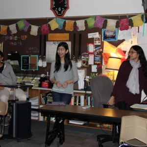 The Coppell High School Unicef club met Dec. 2. to discuss plans for its next fundraiser. The Unicef club raises money to save children in impoverished countries around the world. Photo by Dani Ianni