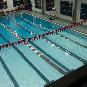 The YMCA pool is a local option for Coppell residents desiring to take a swim. This pool is open all year round and is a family-friendly option for the whole community. Photo by Jennifer Su.